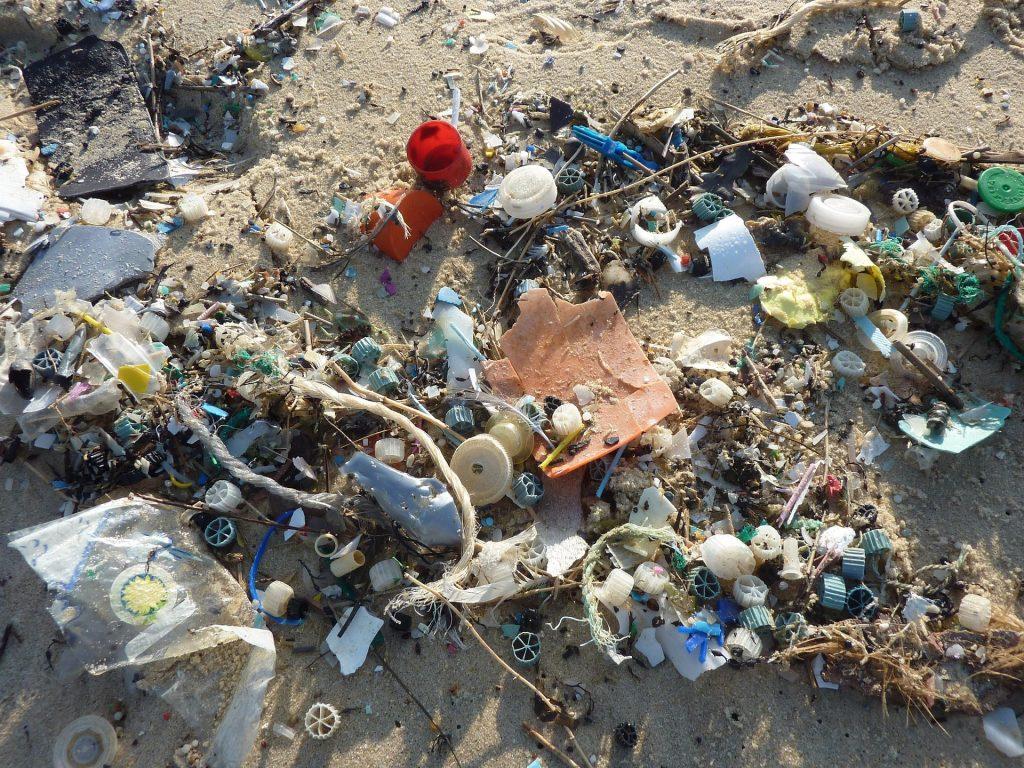 Contaminación de plásticos en el océano